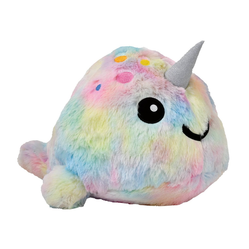 2 Scoops Plush - Tie Dye Narwhal from 2 Scoops