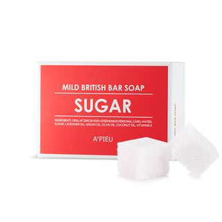 APIEU - Mild British Bar Soap (Suger) 1pc from A'PIEU