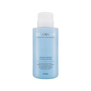 APIEU - Aqua Nature Deep-sea Dew Drop Clearing Softner (For Normal & Dry Skin) 500ml from A'PIEU
