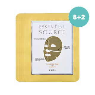 APIEU - Essential Source Mirco Foil Mask (Never Dry) 10pcs from A'PIEU