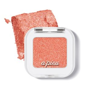APIEU - Mineral Mono Shadow Glitter (#GCR02 Coral Recipe) from A'PIEU