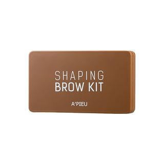 APIEU - Shaping Brow Kit (Dark Brown) from A'PIEU