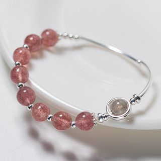 925 Sterling Silver Bead Bracelet from A ROCH