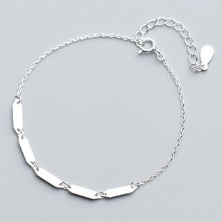 Chain Bracelet 925 Sterling Silver - Bracelet - One Size from A ROCH