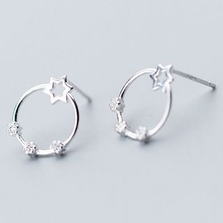 Star Hoop Earring from A ROCH