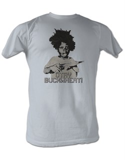 Buckwheat T-shirt Little Rascals Otay Buckwheat Adult Silver Tee Shirt from A&E Designs