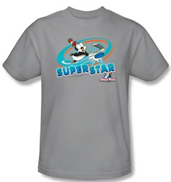 Chilly Willy Kids T-shirt TV Show Slap Shot Silver Tee Shirt Youth from A&E Designs