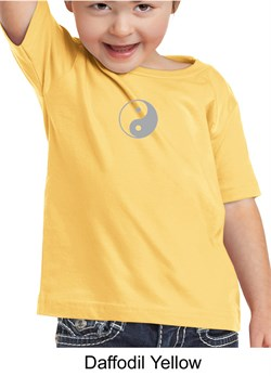 Kids Yoga T-shirt Yin Yang Meditation Toddler Tee Shirt from A&E Designs