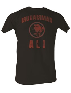 Muhammad Ali T-shirt Adult Ali Baba Coal Tee Shirt from A&E Designs
