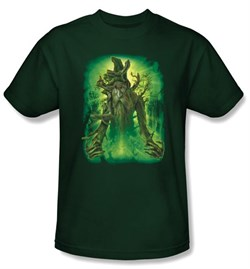 The Lord Of The Rings T-Shirt Treebeard Adult Hunter Green Tee Shirt from A&E Designs