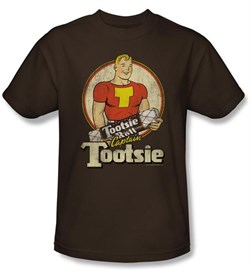 Tootsie Roll Kids T-Shirts - Captain Tootsie Coffee Tee Youth from A&E Designs