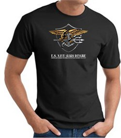 U.S. Navy Seals T-Shirts  Devgru Adult Black from A&E Designs