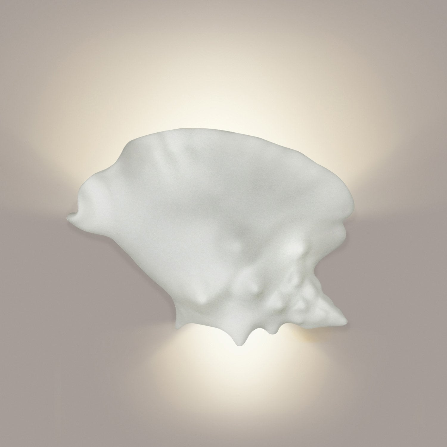 A19 1101-WET-A11 Islands of Light Collection Key West Fog Finish Wall Sconce from A19