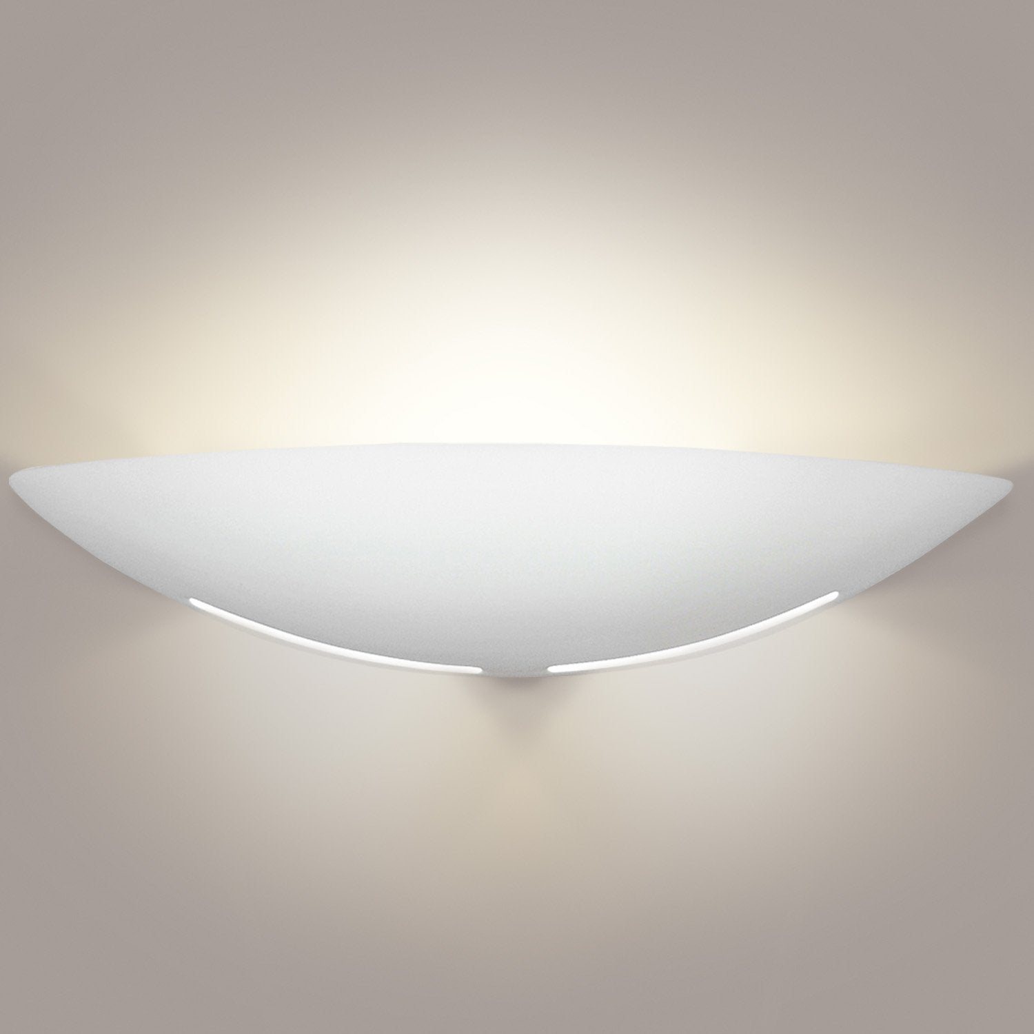 A19 1205-A4 Islands of Light Collection Kauai Pearl Finish Wall Sconce from A19