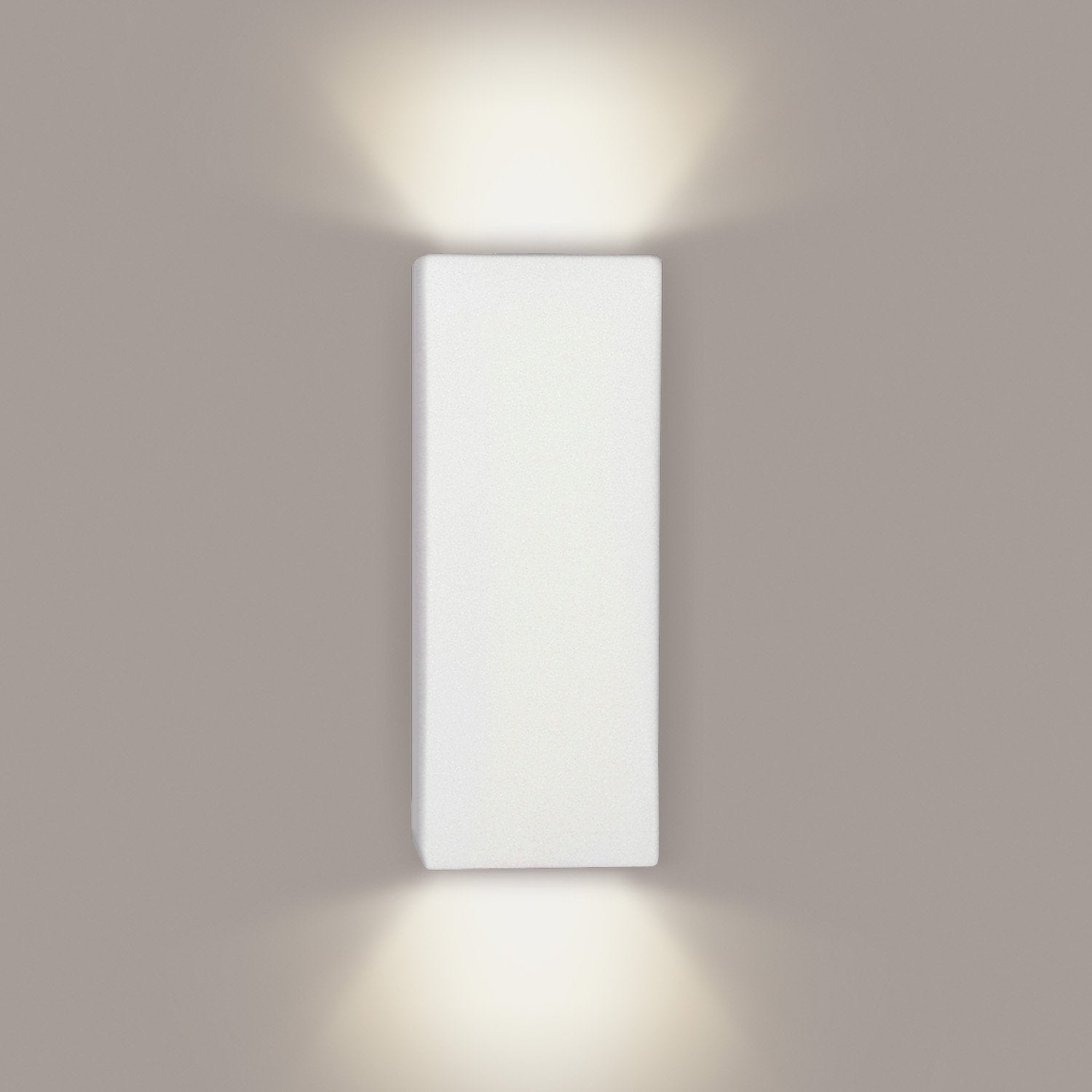 A19 1803-GU24-A21 Islands of Light Collection Flores Dusty Teal Finish Wall Sconce from A19