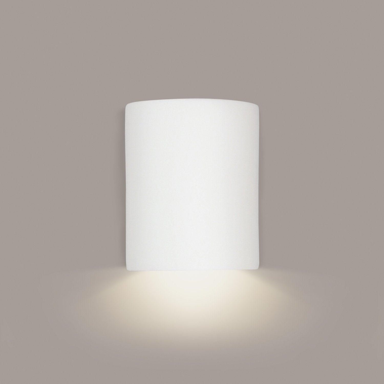 A19 211-GU24-A2 Islands of Light Collection Leros Straw Finish Wall Sconce from A19