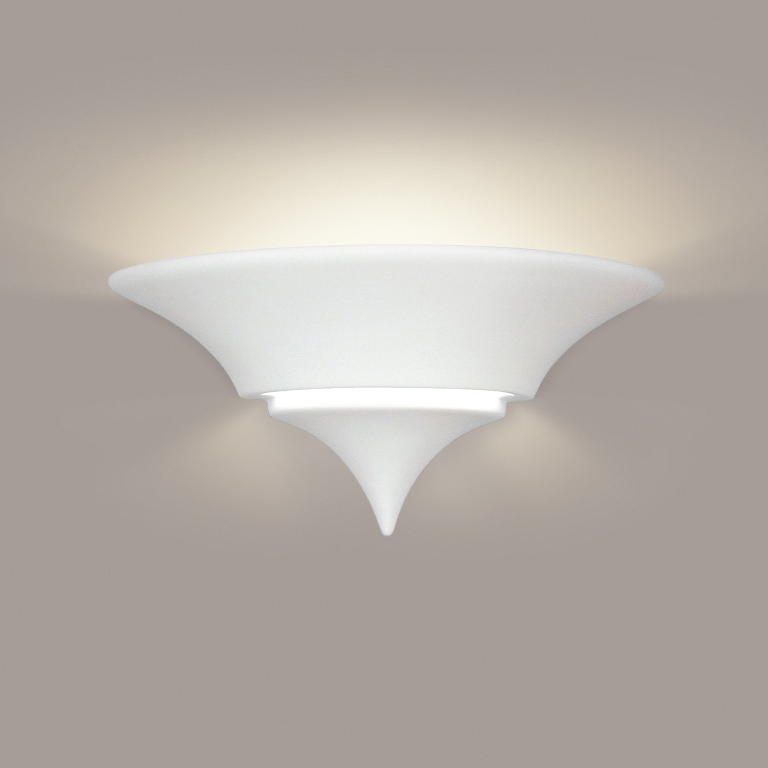 A19 401-LEDGU24-FC Islands of Light Collection Atlantis Firecracker Finish Wall Sconce from A19