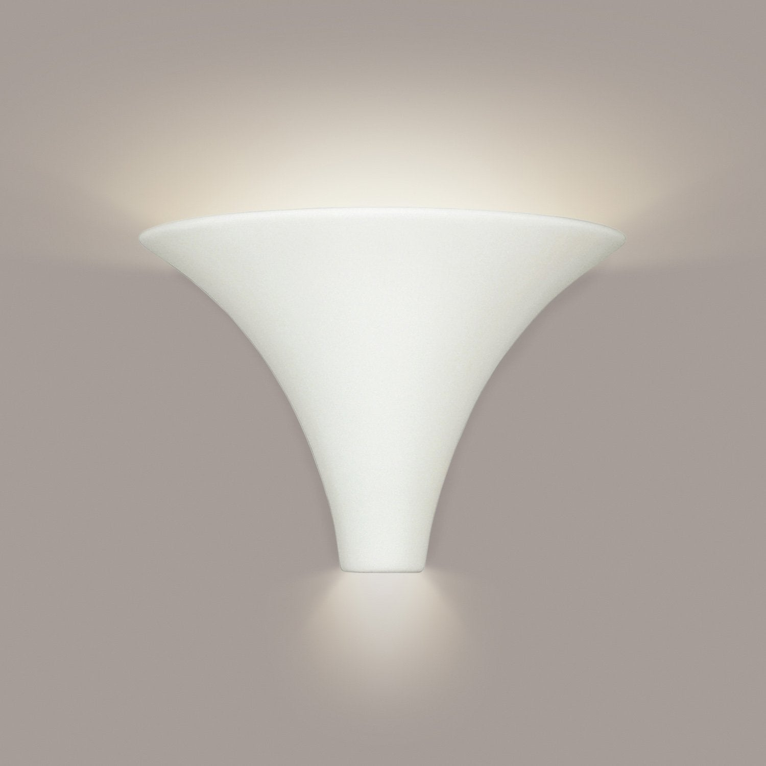 A19 501-CFL13-M16 Islands of Light Collection Madera Silver Satin Finish Wall Sconce from A19