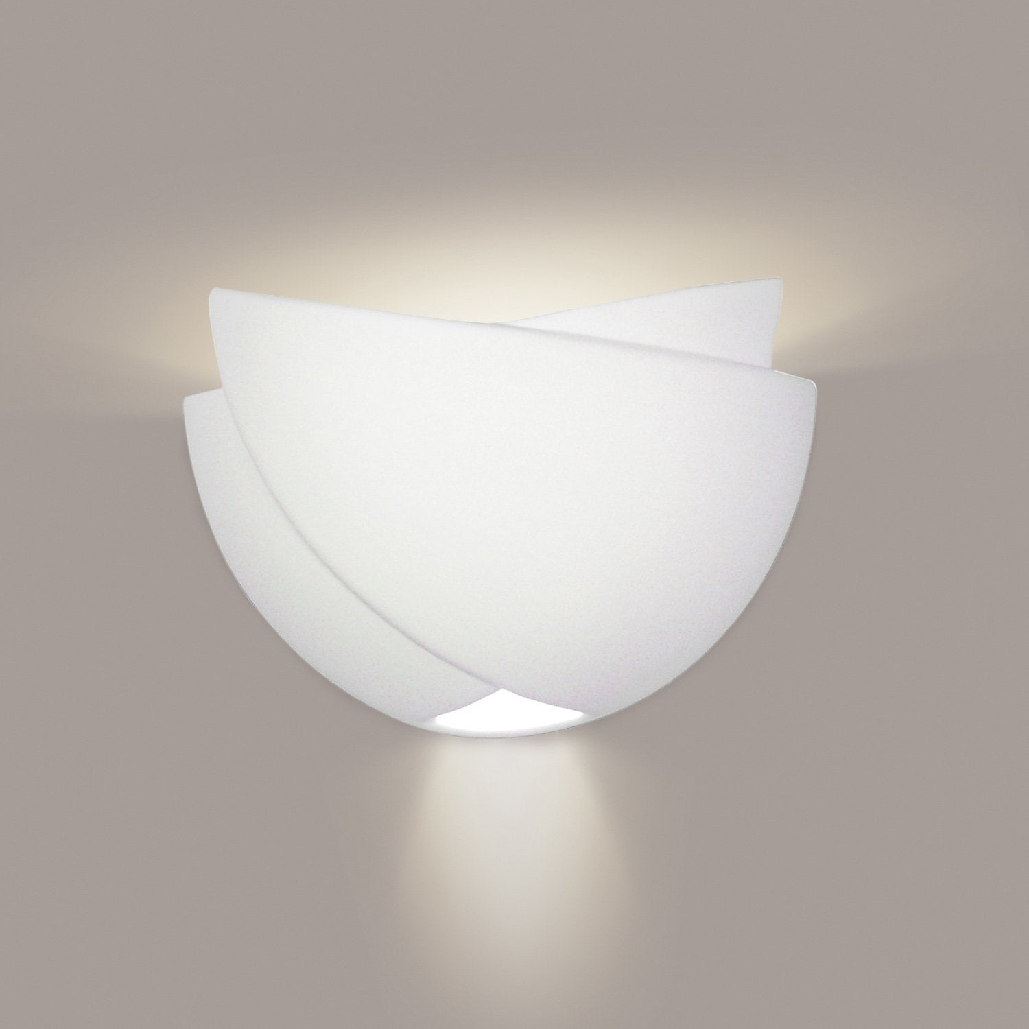 A19 602-CFL13-A11 Islands of Light Collection Ceylon Fog Finish Wall Sconce from A19