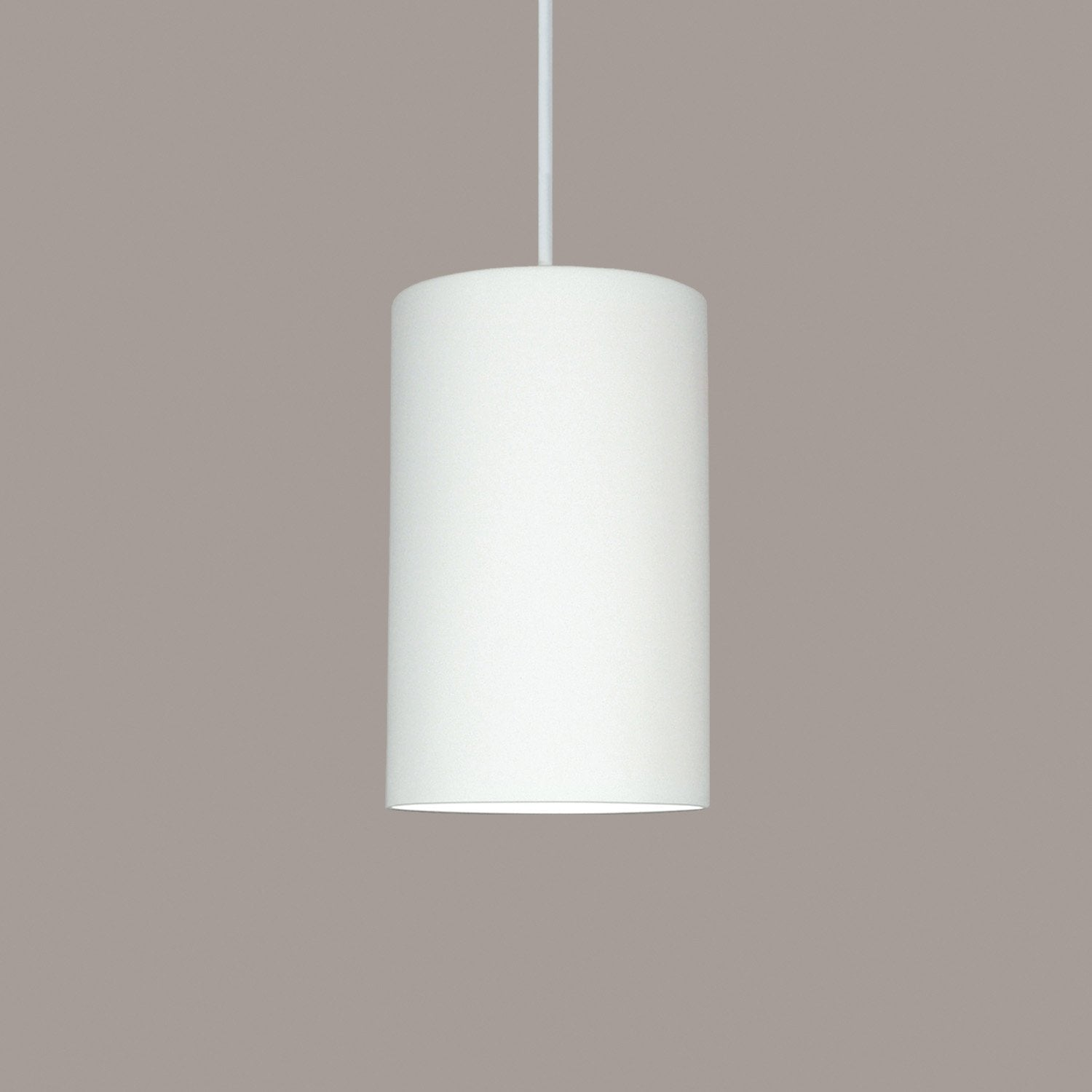 A19 P201-CFL13-A32-WCC Islands of Light Collection Andros Cream Satin Finish Pendant from A19