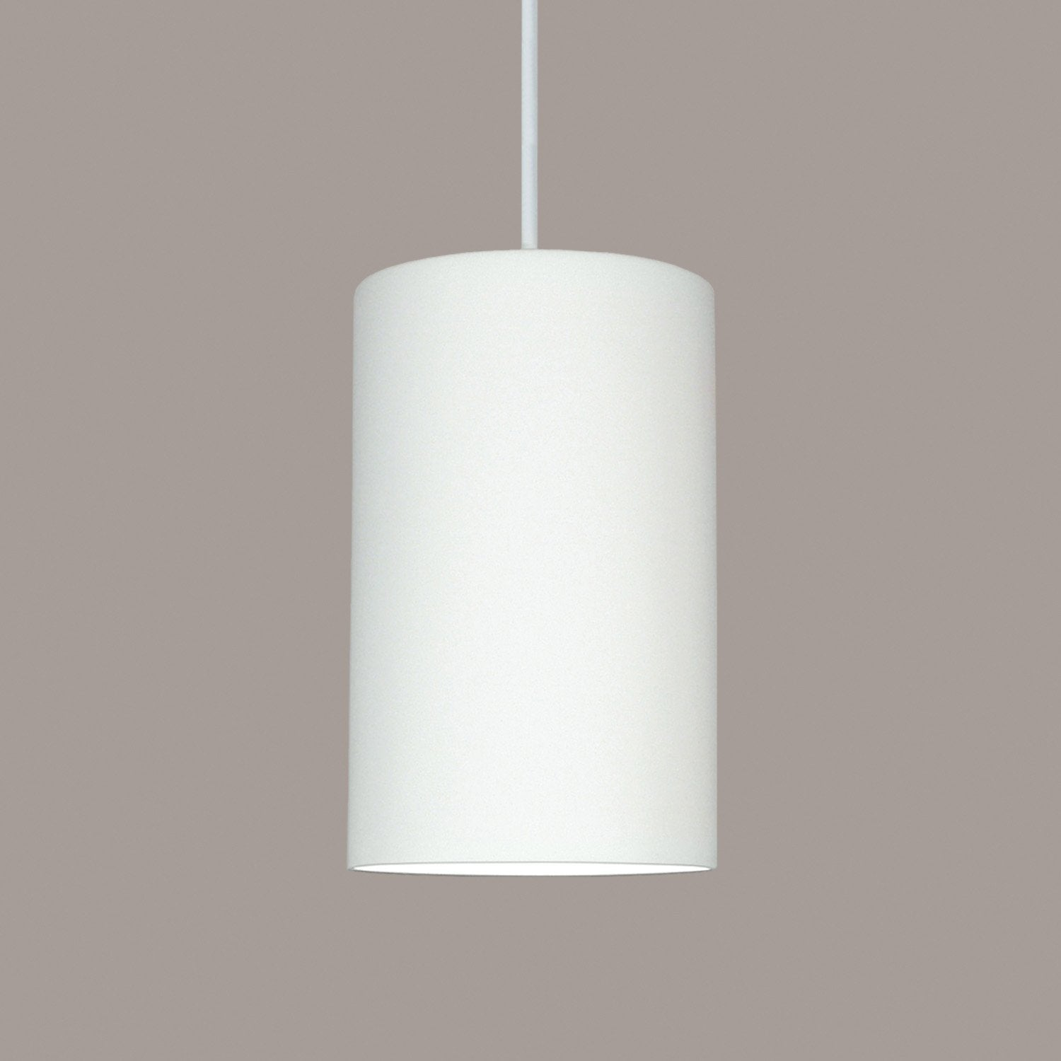 A19 P202-WC-WCC Islands of Light Collection Andros White Crackle Finish Pendant from A19