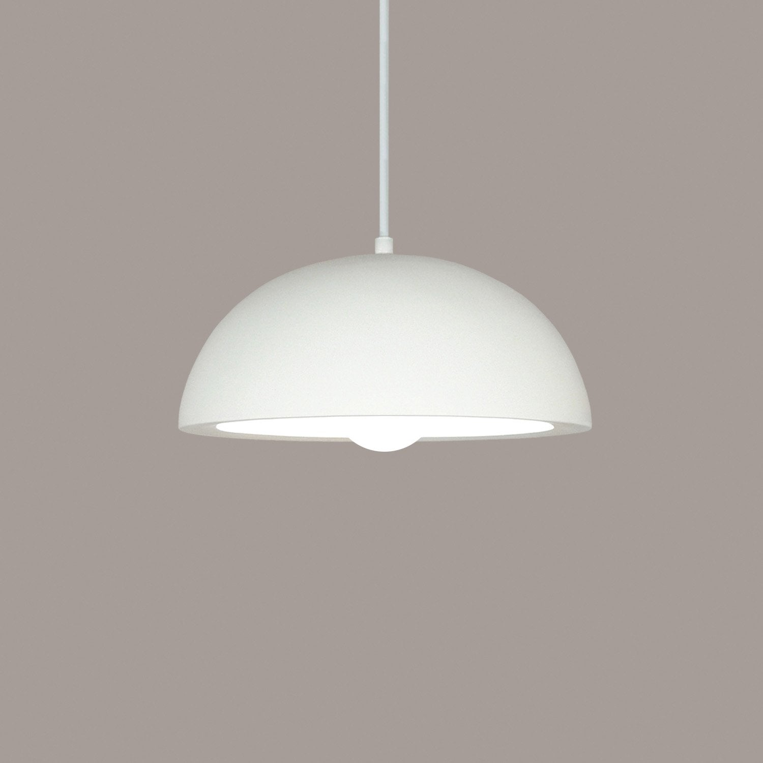 A19 P301-CFL13-A24-BCC Islands of Light Collection Thera Rich Earth Finish Pendant from A19