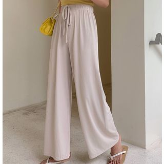 Drawstring Wide-Leg Pants from A7 SEVEN