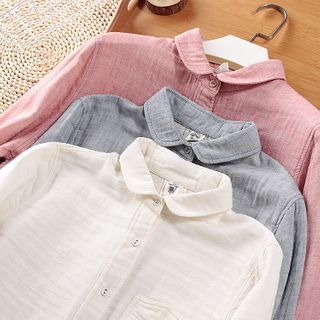 Plain Blouse from AOKI