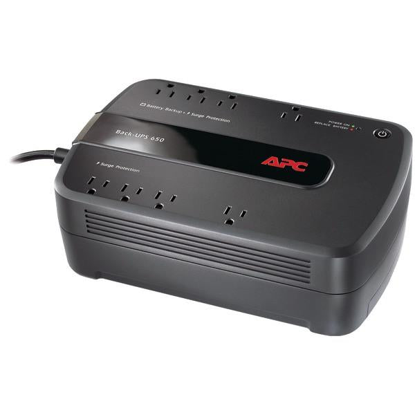 APC BE650G1 Back-UPS 650 8-Outlet 650VA System from APC