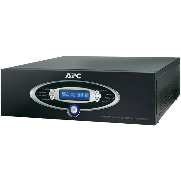 APC J15BLK 12-Outlet J-Type Power Conditioner with Battery Backup (Black; 4,500 Joules; 1,500VA; 865 Watts) from APC