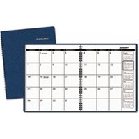 Monthly Planner, 8 7/8 x 11, Navy, 2019 from AT-A-GLANCE