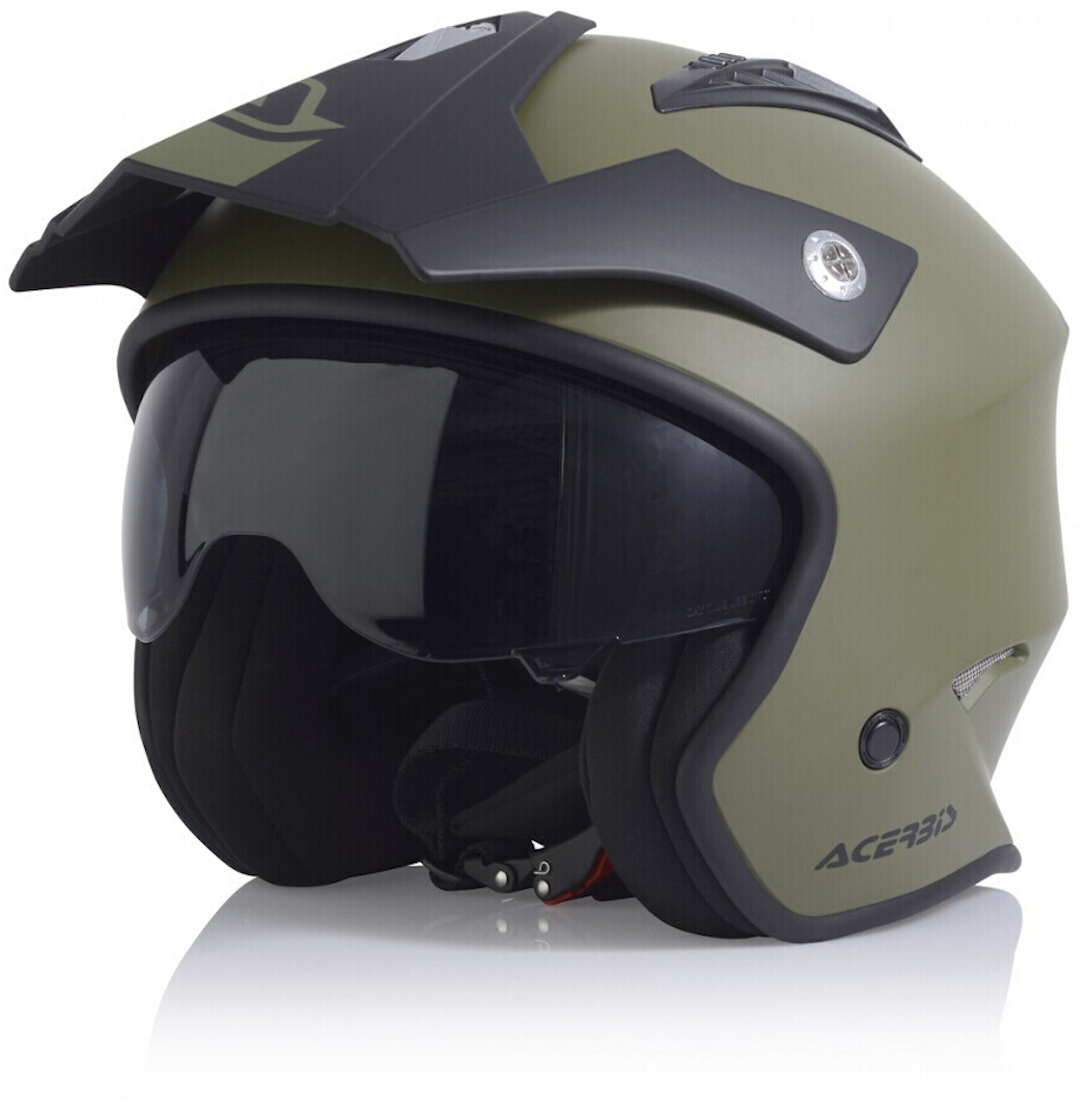 Acerbis Aria Jet Helmet, green, Size XS, green, Size XS from Acerbis