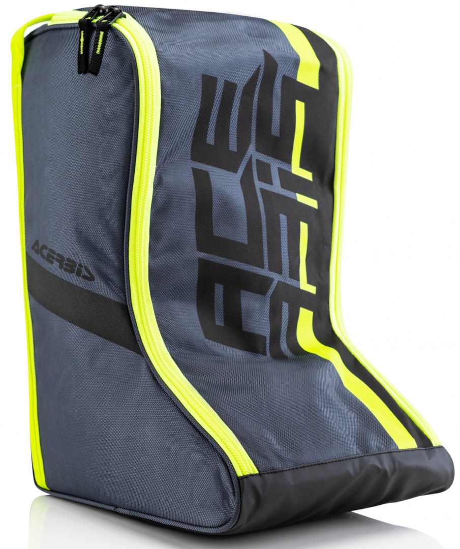 Acerbis Boots Bag, black-yellow, black-yellow, Size One Size from Acerbis