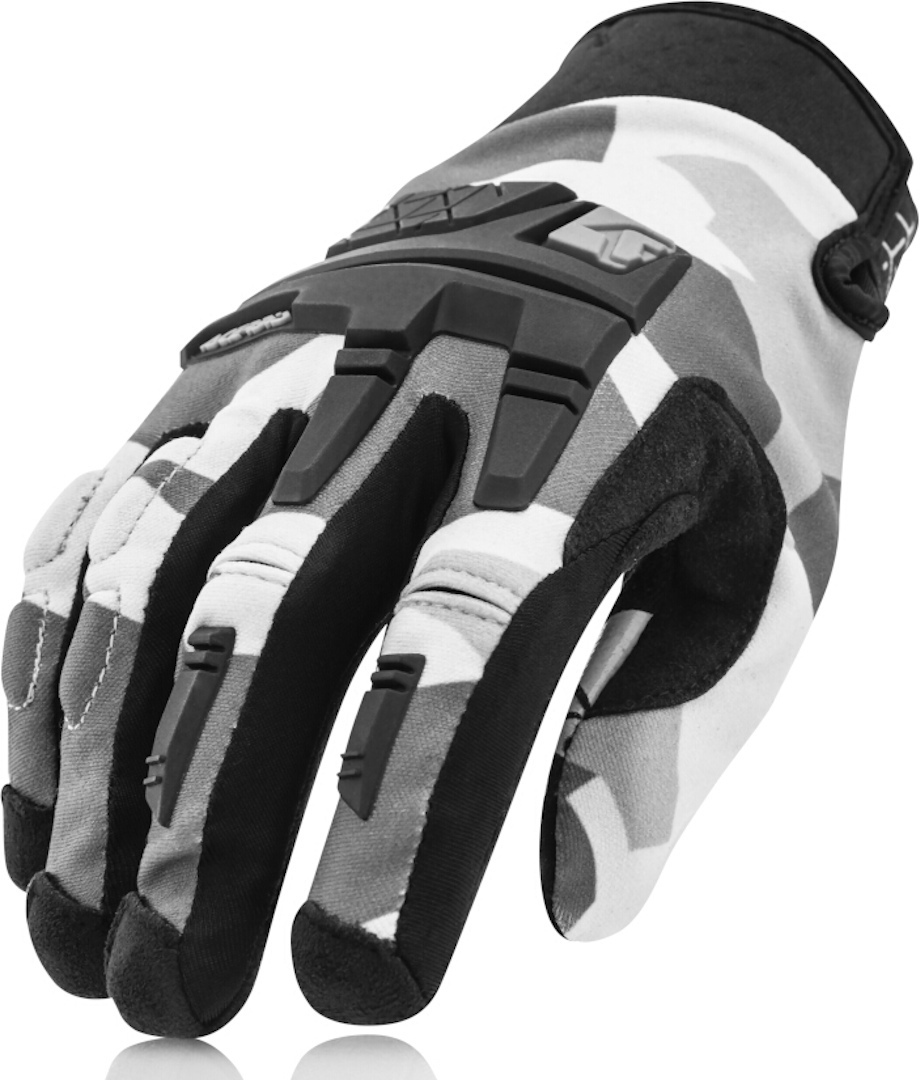 Acerbis CE X-Enduro Motorcycle Gloves, grey, Size M, grey, Size M from Acerbis