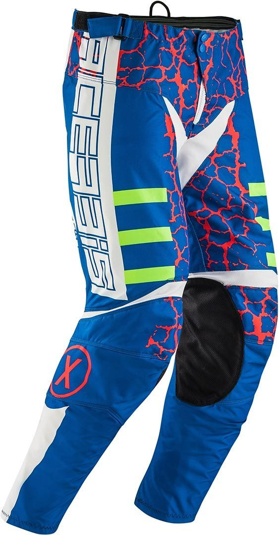 Acerbis Special Edition Avenger Motocross Pants, red-blue, Size 32, red-blue, Size 32 from Acerbis
