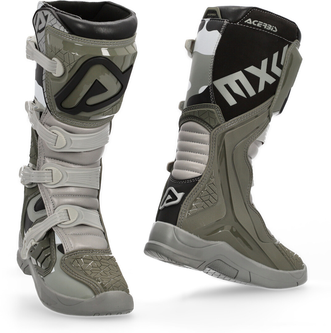 Acerbis X-Team Motocross Boots, brown, Size 45, brown, Size 45 from Acerbis