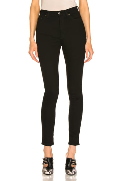 Acne Studios Bla Konst Peg Skinny in Black from Acne Studios
