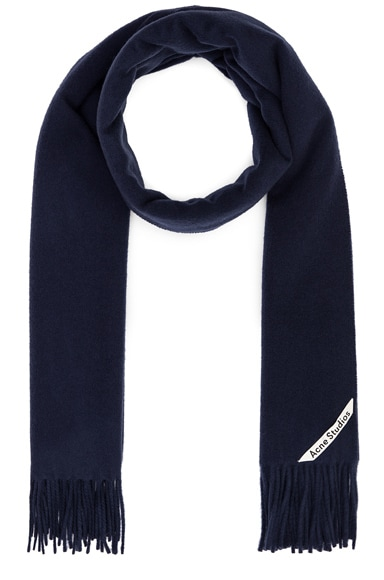 Acne Studios Canada Scarf in Blue from Acne Studios