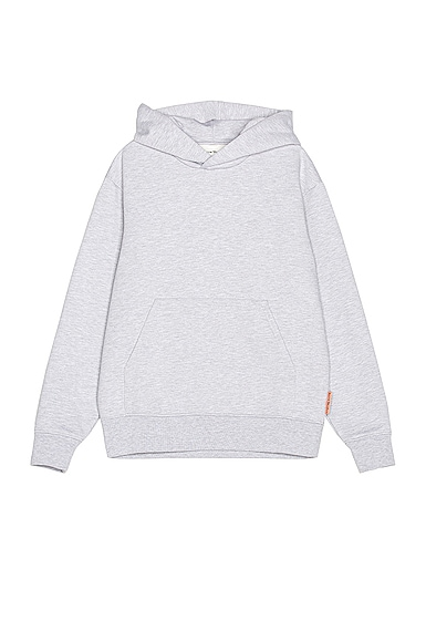Acne Studios Forres Pink Label Hoodie in Gray from Acne Studios