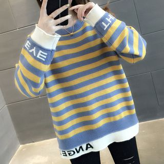 Striped Sweater from Ageha