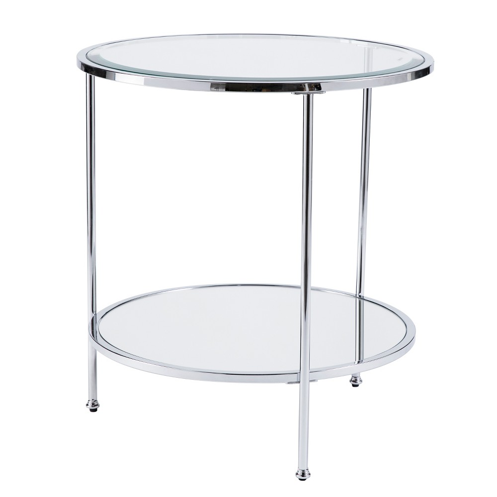 Ric End Table Chrome - Aiden Lane from Aiden Lane