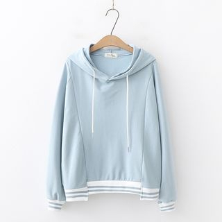 Contrast Trim Hoodie from Aigan