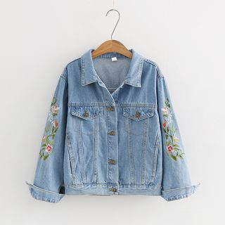 Embroidered Denim Jacket from Aigan