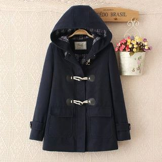 Hooded Toggle Coat from Aigan