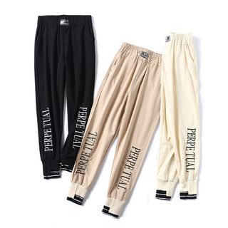 Lettering Harem Pants from Aigan