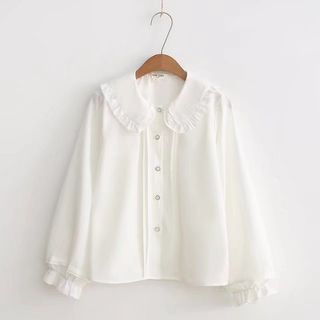 Long-Sleeve Ruffled Shirt from Aigan