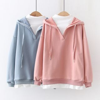 Mock Two-Piece Hoodie from Aigan
