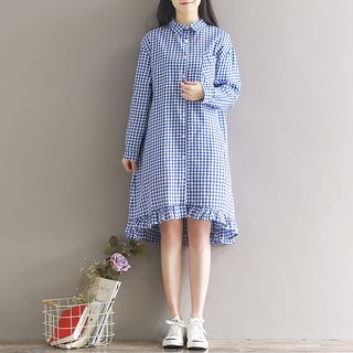 Plaid Shirt Dress from Aigan