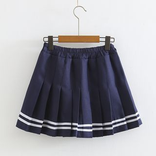 Pleated Mini Skirt from Aigan