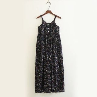 Print Spaghetti Strap Sundress from Aigan